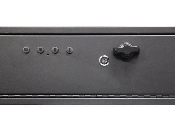 Hidden Gun Safe - Model 40 (with louvers)