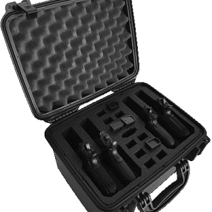 Multiple Pistol Case 4 Pack