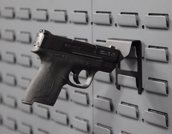 Single Pistol Peg Holder