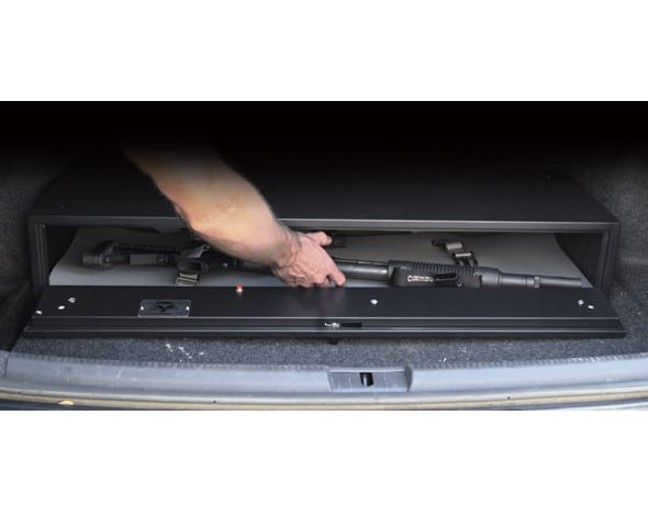 Vehicle mount gun safe - Fast Box Harrier LE 2