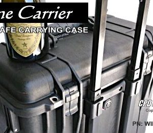 Wine Carrier - Airline Safe - Check-in Hard Case