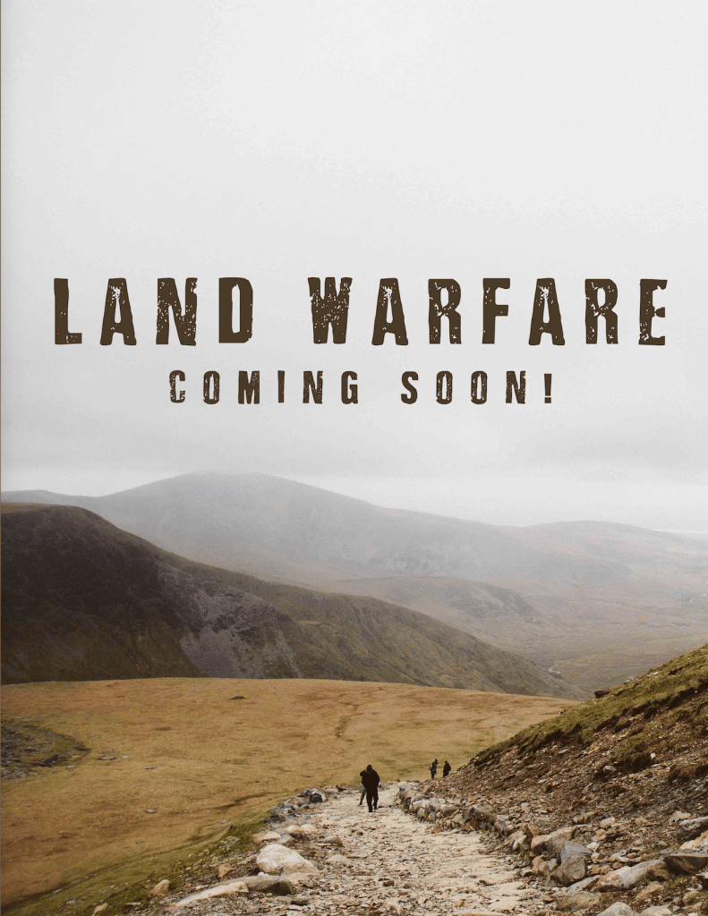 land warfare training