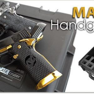 Magwell Handgun Case 4 Pack - Shooting Range Pro Series