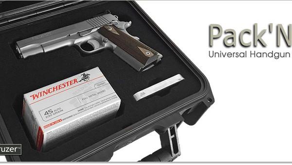 Pack 'N' 1 - Universal Handgun Case Single