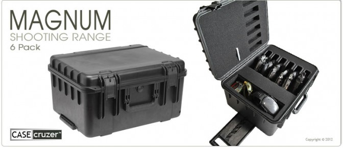 magnum handgun shooting range case