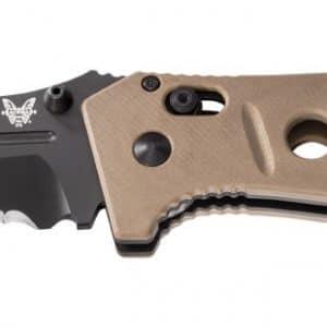 Benchmade Adamas Folding Knife Desert Tan G10 Handles 275SBKSN blade