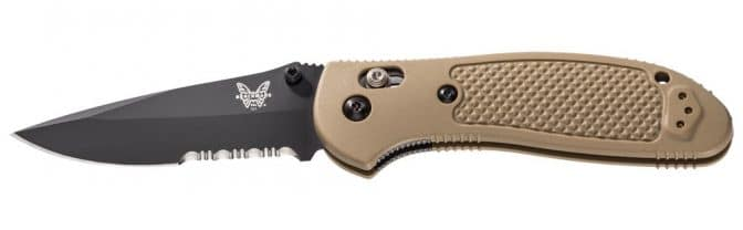 Benchmade Griptilian Drop Point Tactical Knife - 551SBKSN 2