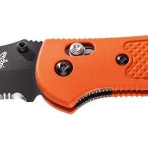 Benchmade Griptilian Knife Black Blade & Orange Handles 551SBK-ORG 1
