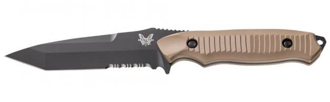 Benchmade Nimravus Fixed Blade Tactical Knife 141SBKSN blade
