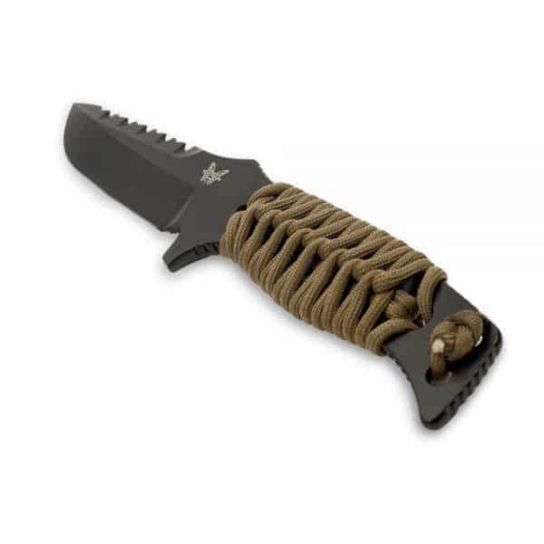 Benchmade Sibert Adamas Fixed Black Blade Knife 375BKSN