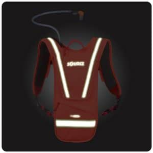 iVis Firefly 2L Hydration pack orange glow