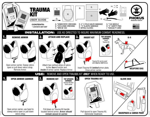 Deployment Trauma Kit 2