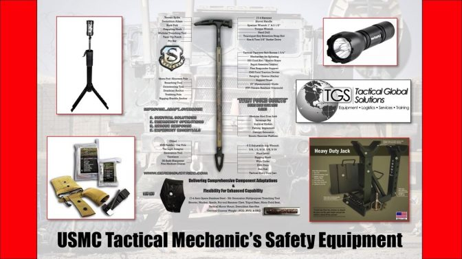 usmc tactical mechanics safety equipment