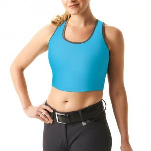 Tactical Bra Turquoise/Dark-Grey