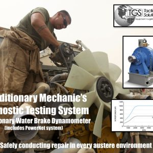 Expeditionary Mechanic's Diagnostic Testing System: Expeditionary Water Brake Dynamometer
