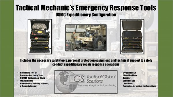 Tactical Mechanic's Emergency Response Tools: USMC Expeditionary Configuration 1