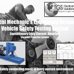 Tactical Mechanic's Emergency Response Vehicle Safety Testing System: Expeditionary Eddy-Current Absorber