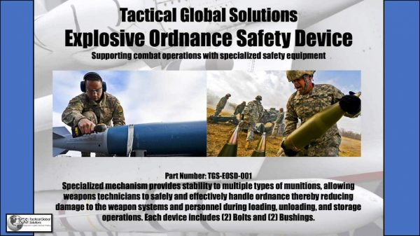 TGS Explosive Ordnance Safety Device Product Flyer